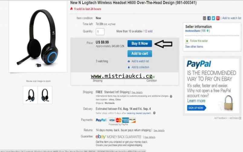kup teď na Ebay