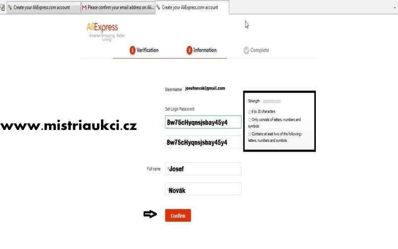 ukázka hesla