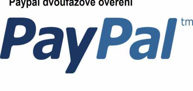 paypal-dvoufázové ověřen