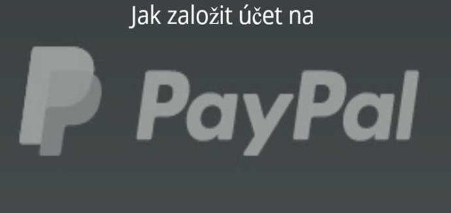 Paypal založení účtu