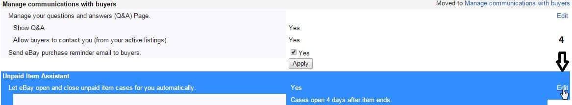 Asistent nezaplacené položky na Ebay