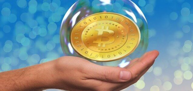 bitcoinová bublina