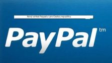 nový vzhled i menu Paypalu
