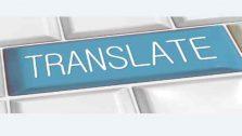 online translate Google překladač
