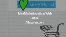 seznam přání na aliexpress